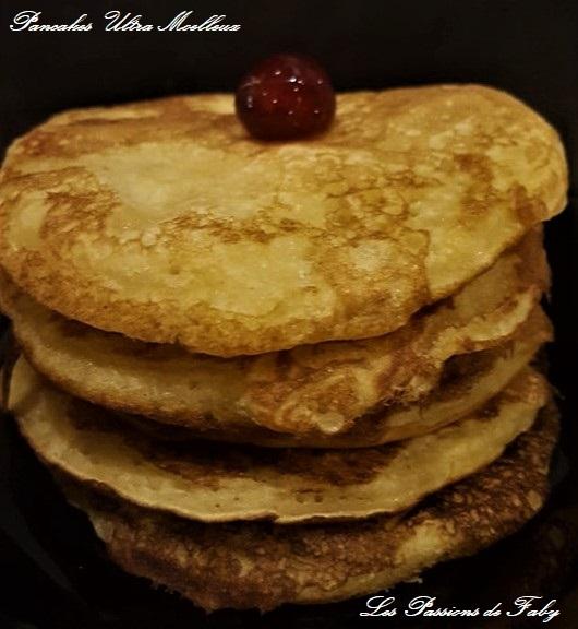 Pancakes Ultra Moelleux les-passions-de-faby.com