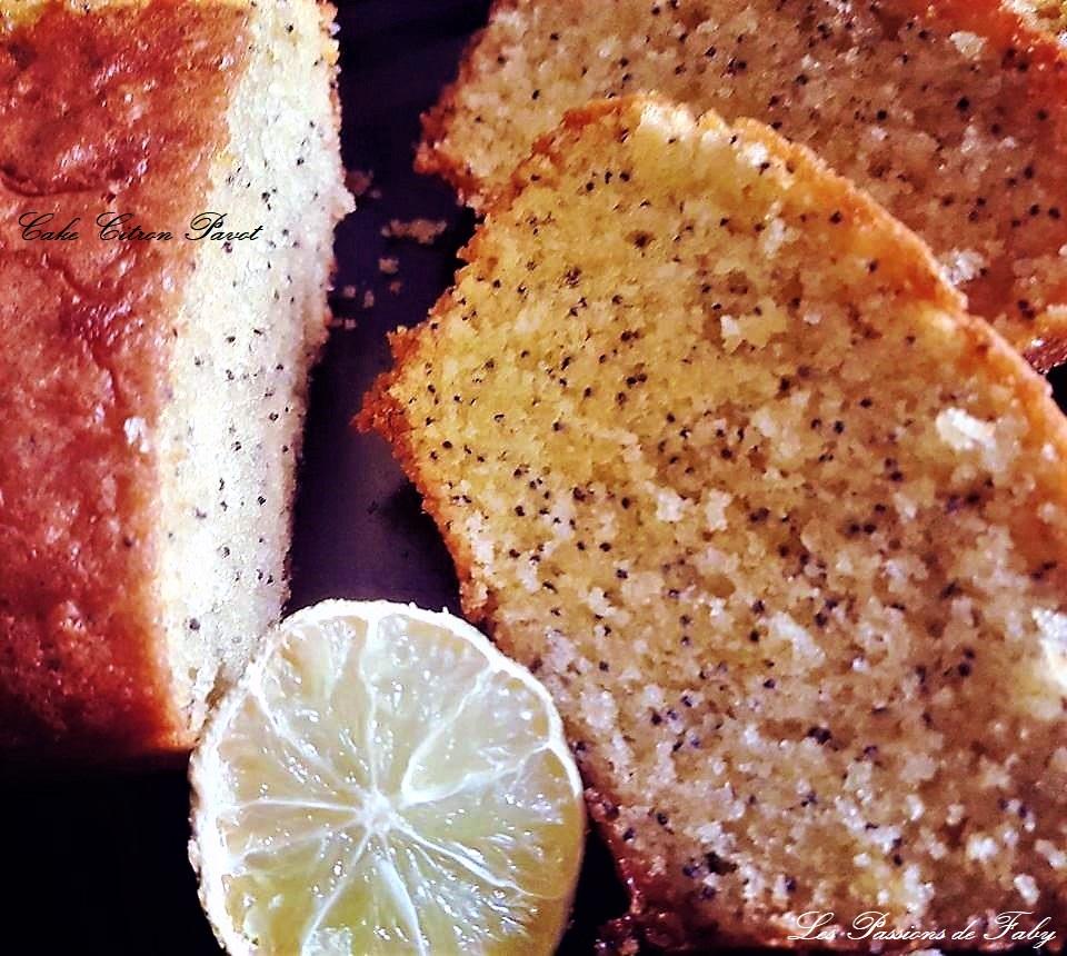 Cake Citron Pavot les-passions-de-faby.com