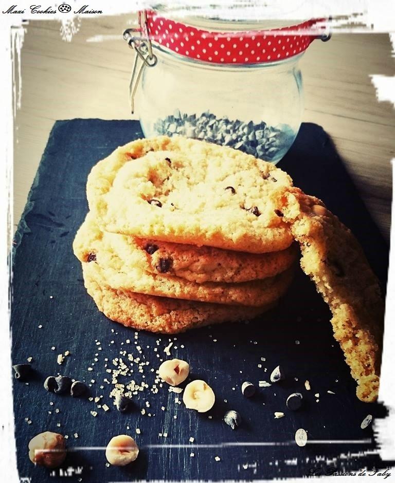Maxi Cookies 🍪 les-passions-de-faby.com