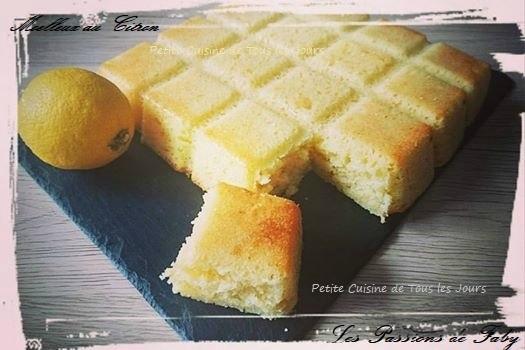 Moelleux au Citron 🍋 les-passions-de-faby.com