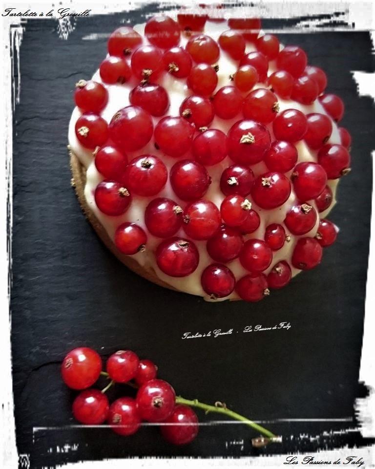 Tartelette aux Groseilles les-passions-de-faby.com