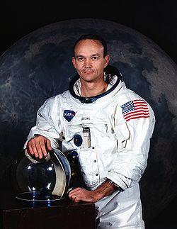 l'astronaute Michael Collins