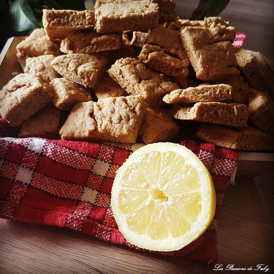 Canistrelli au Citron les-passions-de-faby.com