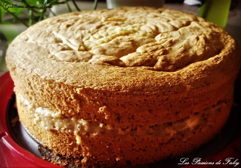 Gâteau aux Noix de la Mamie Catherine les-passions-de-faby.com